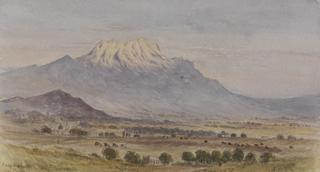 IXTACCILURATI FROM PUEBLA by White, George