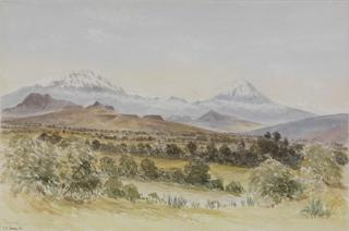 TACUBAYA SHOWING MOUNT IXTACCHUATI by White, George