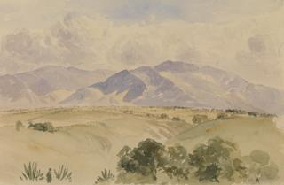 TACUBAYA. LANDSCAPE WITH MOUNTAINS by White, George