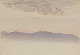 TACUBAYA. MISTY LANDSCAPE, SUNRISE by White, George