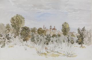 TACUBAYA. VIEW OVER TREES by White, George