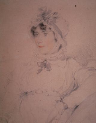 HARRIET BARING, LATER MRS CHARLES WALL by Lawrence, Sir Thomas